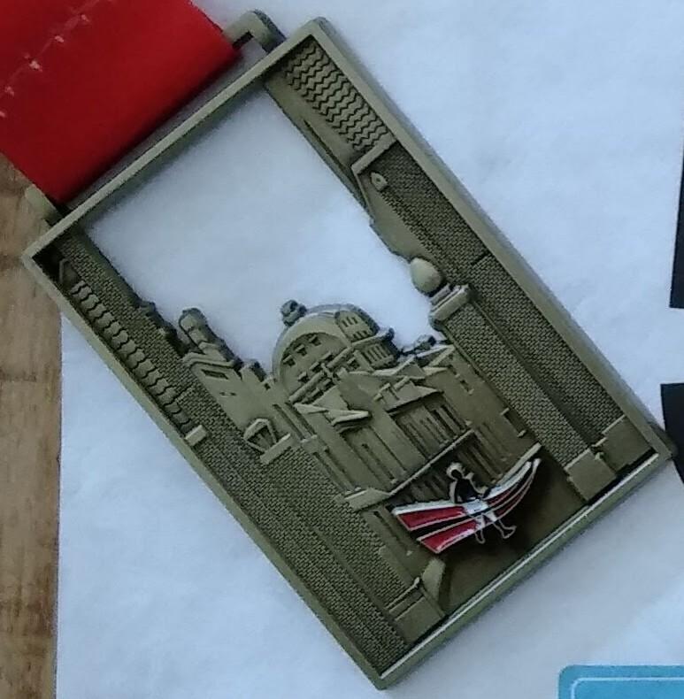 Medaille DrechtStadLoop 2018