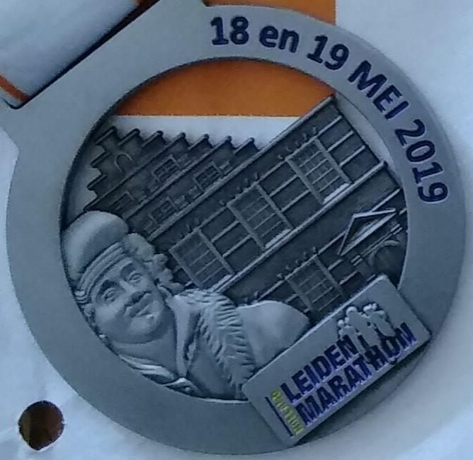 Medaille Leiden Marathon 2019