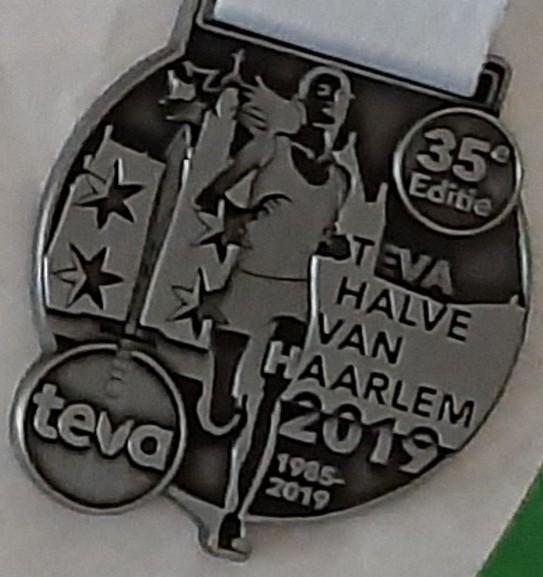 Medaille Halve van Haalem 2019