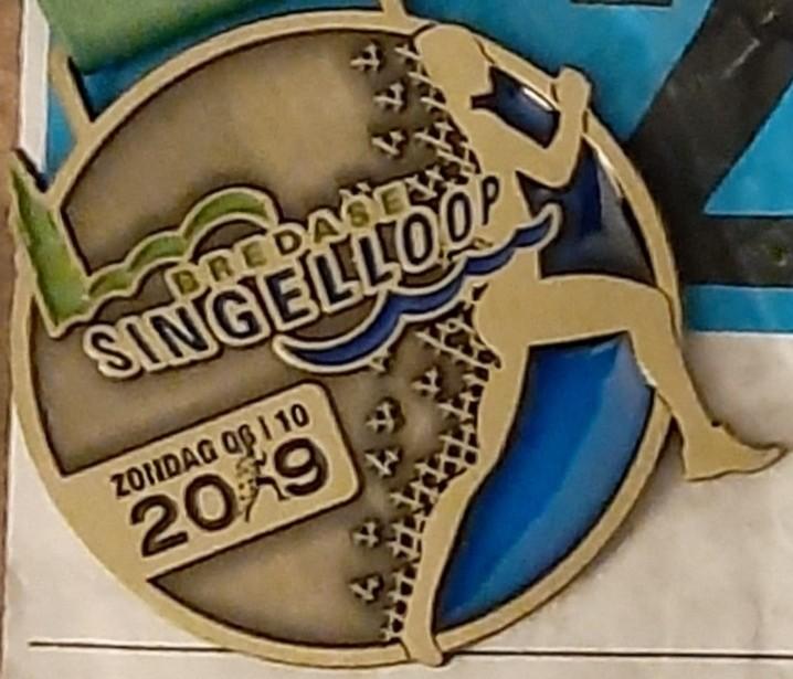 Medaille Bredase Singelloop 2019